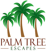 Palm Tree Escapes Logo